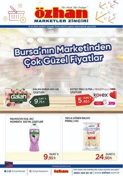 Özhan Market broşürdeki Özhan Market dan fırsatlar ( 2 gün kaldı)