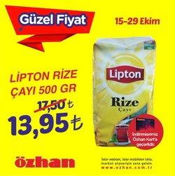 Özhan Market broşürdeki Özhan Market dan fırsatlar ( 7 gün kaldı)