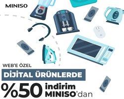 Ev ve Mobilya fırsatları Erzurum Miniso kataloğu ( Yarın son gün )