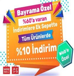 Miniso broşürdeki Miniso dan fırsatlar ( Yarın son gün)