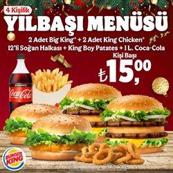 Burger King broşürdeki Yılbaşı dan fırsatlar ( 10 gün kaldı)