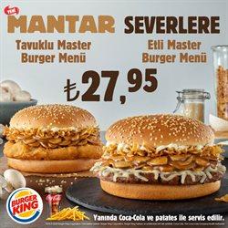 Kafe ve Restoranlar fırsatları Ankara Burger King kataloğu ( 10 gün kaldı )