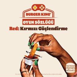 Burger King kataloğu ( 2 gündür yayında )