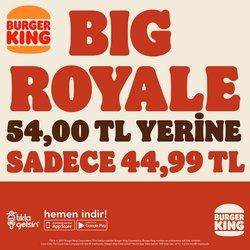 Burger King kataloğu ( Dün yayınlandı )