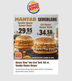 Burger King broşürdeki Kafe ve Restoranlar dan fırsatlar ( 9 gün kaldı)