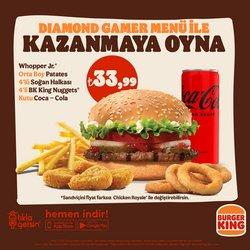 Burger King kataloğu ( 7 gün kaldı)