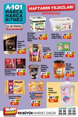 A101 broşürdeki Süpermarketler dan fırsatlar ( 2 gün kaldı)