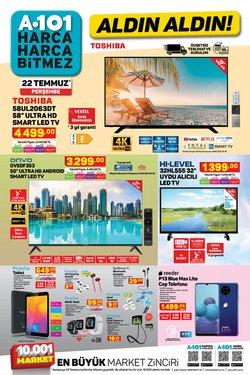 A101 broşürdeki Süpermarketler dan fırsatlar ( Bugün son gün)