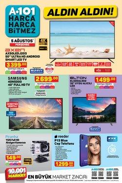 A101 broşürdeki A101 dan fırsatlar ( Dün yayınlandı)