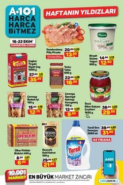 A101 broşürdeki Süpermarketler dan fırsatlar ( Yarın son gün)