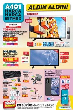 A101 broşürdeki A101 dan fırsatlar ( Bugün yayınlandı)