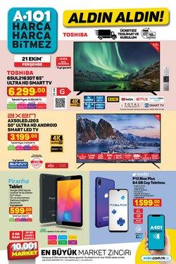 A101 broşürdeki Süpermarketler dan fırsatlar ( Bugün yayınlandı)