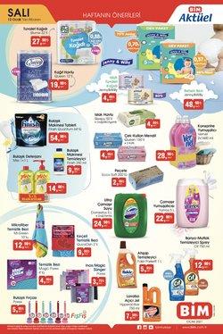 Süpermarket fırsatları İstanbul BİM kataloğu ( 2 gün kaldı )
