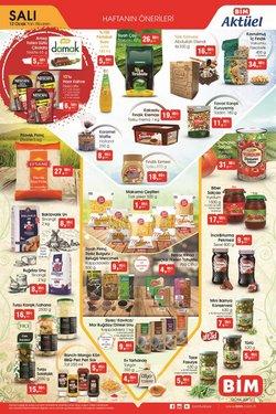 Süpermarket fırsatları BİM kataloğu ( 2 gün kaldı )