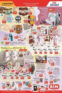 Süpermarket fırsatları Erzurum BİM kataloğu ( 2 gün kaldı )