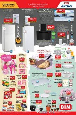 Süpermarket fırsatları Erzurum BİM kataloğu ( 2 gündür yayında )