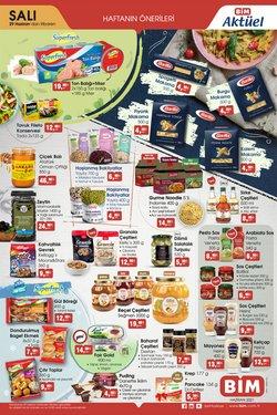 BİM broşürdeki Süpermarketler dan fırsatlar ( Bugün yayınlandı)