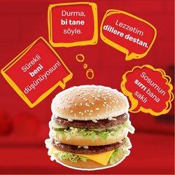 McDonald's broşürdeki Kafe ve Restoranlar dan fırsatlar ( Bugün son gün)