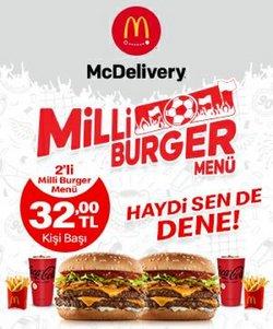 McDonald's broşürdeki Kafe ve Restoranlar dan fırsatlar ( 4 gün kaldı)