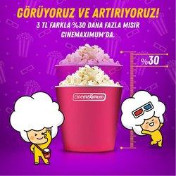 Cinemaximum broşürdeki Seyahat ve Hobiler dan fırsatlar ( Dün yayınlandı)