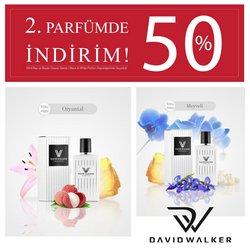 Kozmetik fırsatları David Walker kataloğu ( Yarın son gün )