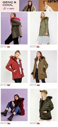Moda fırsatları Ankara Koton kataloğu ( Yarın son gün )