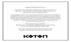 Adana Koton indirim kuponu ( Yarın son gün )