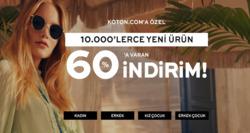 Adana Koton indirim kuponu ( 2 gündür yayında )