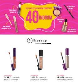 Flormar broşürdeki Kozmetik ve Bakım dan fırsatlar ( Bugün son gün)