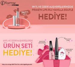 Flormar broşürdeki Kozmetik ve Bakım dan fırsatlar ( 2 gün kaldı)