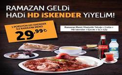 İstanbul broşürdeki HD İskenderdan fırsatlar
