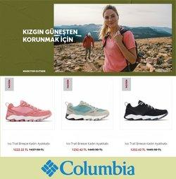 Columbia broşürdeki Spor dan fırsatlar ( Yarın son gün)
