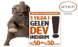 İstanbul broşürdeki Step Halıdan fırsatlar