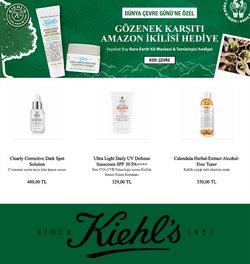 Kiehl's broşürdeki Kozmetik ve Bakım dan fırsatlar ( Bugün son gün)