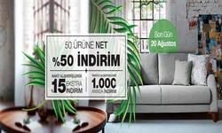 İstanbul broşürdeki Kelebek Mobilyadan fırsatlar