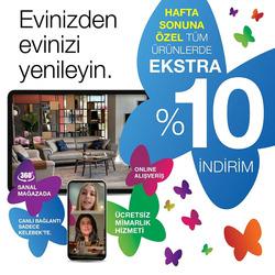 İzmir Kelebek Mobilya indirim kuponu ( 7 gün kaldı )