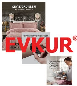 Elektronik ve Beyaz Eşya fırsatları Adana Evkur kataloğu ( 5 gün kaldı )