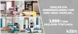 İzmir broşürdeki Kilim Mobilyadan fırsatlar
