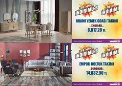 İpek Mobilya broşürdeki İpek Mobilya dan fırsatlar ( 9 gün kaldı)