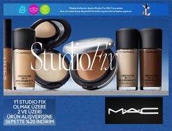 Mac Cosmetics kataloğu ( Süresi geçmiş )