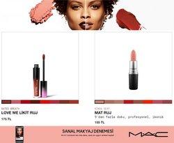 Mac Cosmetics kataloğu ( 11 gün kaldı)