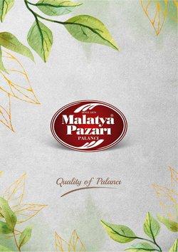 Malatya Pazarı broşürdeki Malatya Pazarı dan fırsatlar ( Uzun geçerlilik)