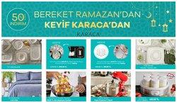 Karaca broşürdeki Ramazan dan fırsatlar ( 4 gün kaldı)