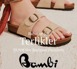 Bambi Ayakkabı broşürdeki Bambi Ayakkabı dan fırsatlar ( Bugün yayınlandı)