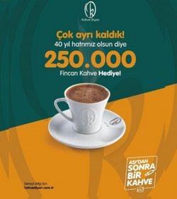 Kahve Diyarı broşürdeki Kafe ve Restoranlar dan fırsatlar ( Bugün yayınlandı)