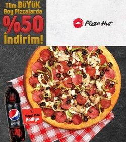 Pizza Hut broşürdeki Kafe ve Restoranlar dan fırsatlar ( Yarın son gün)