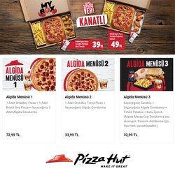 Pizza Hut broşürdeki Pizza Hut dan fırsatlar ( Bugün son gün)