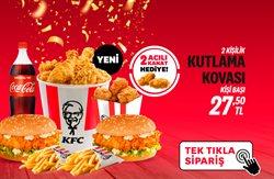 Kafe ve Restoranlar fırsatları KFC kataloğu ( 12 gün kaldı )