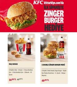 KFC broşürdeki Kafe ve Restoranlar dan fırsatlar ( Dün yayınlandı)