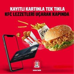 KFC broşürdeki KFC dan fırsatlar ( 2 gün kaldı)